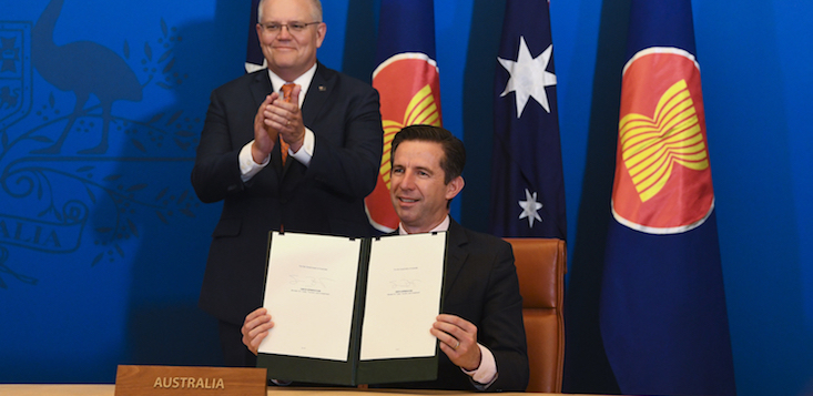 RCEP trade agreement
