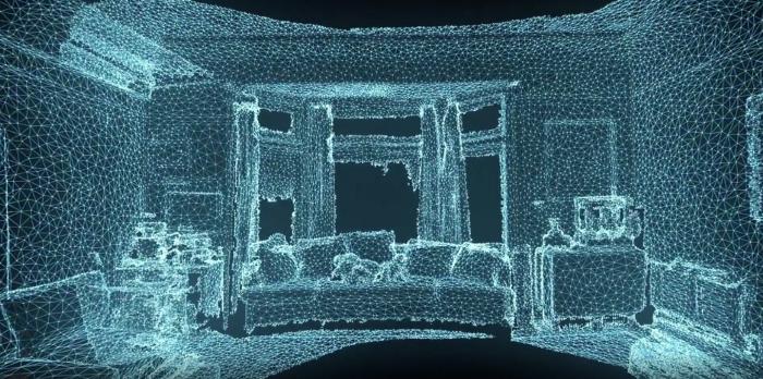 depth-scanning LiDAR sensor
