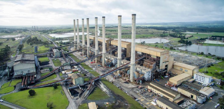 Hazelwood coal-fired power station in Gippsland