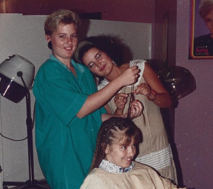 Renae Kunda hairdressing