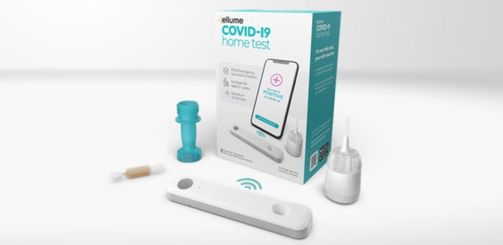 Ellume at-home testing kit