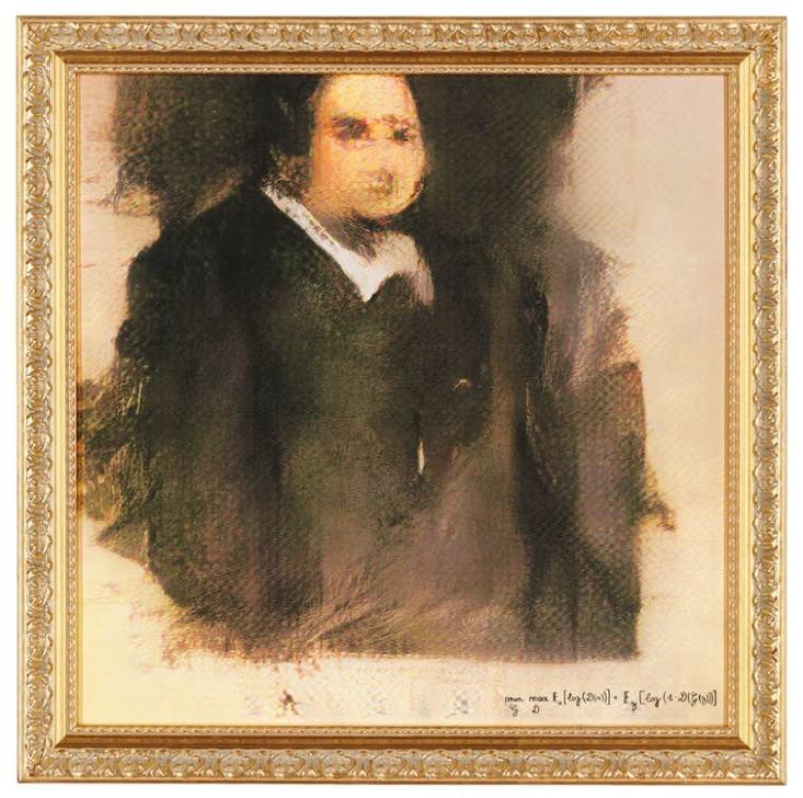 Portrait of Edmond Belamy