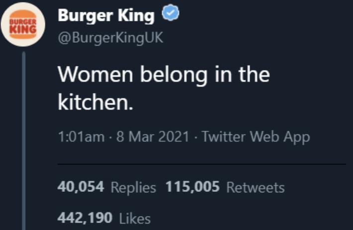 Burger King screenshot