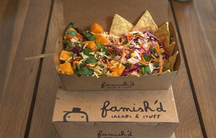 Famish'd salads
