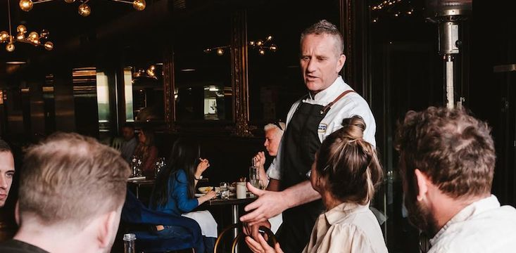 Hospitality Industry Mark Normoyle Luna Food and Wine Bar