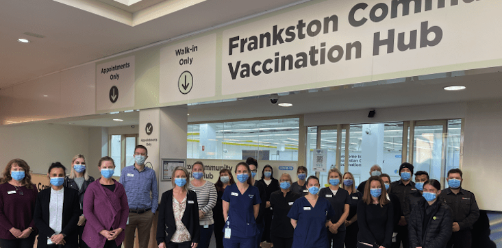 Bayside vaccination hub