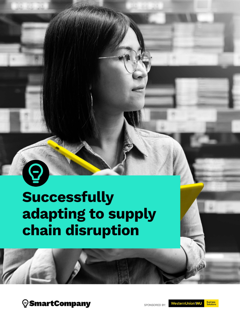 supply chain ebook cover