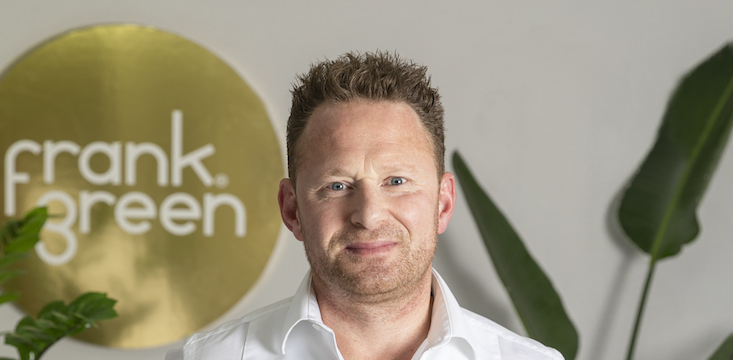 Frank green founder and CEO Ben Young