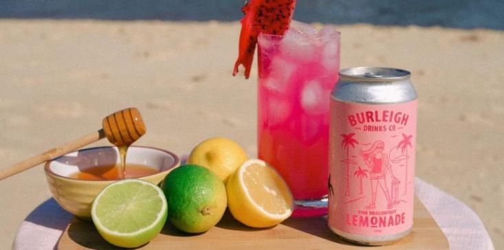 Burleigh Drinks Co lemonade